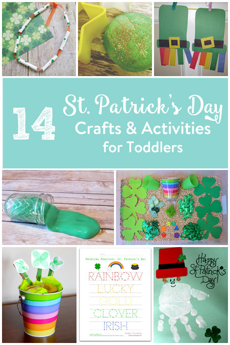 Best ideas about Home Crafts For Toddlers . Save or Pin 14 St Patricks Day Crafts & Activities for Toddlers • The Now.