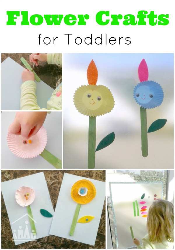 Best ideas about Home Crafts For Toddlers . Save or Pin Spring Flower Activities for Toddlers Crafty Kids at Home Now.