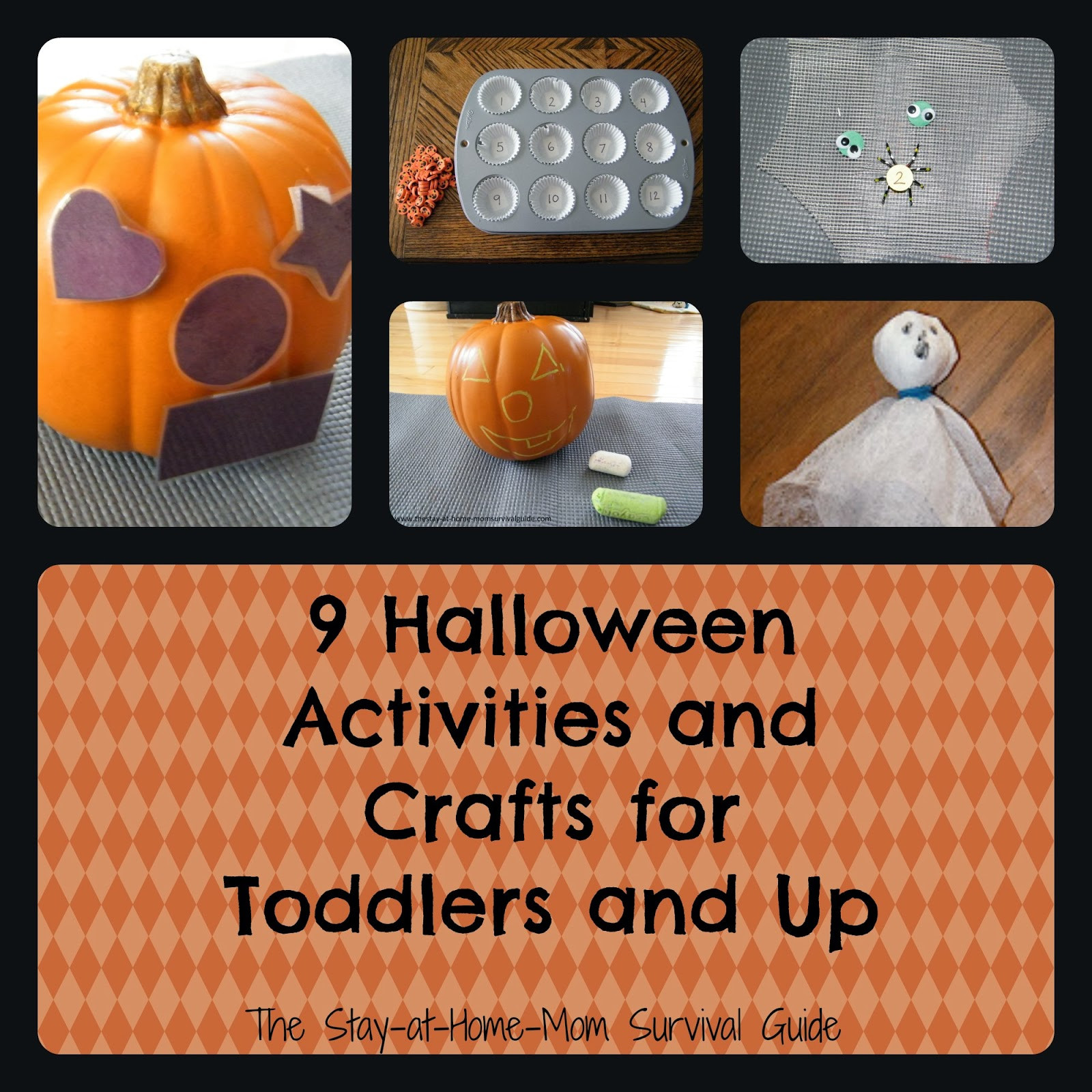 Best ideas about Home Crafts For Toddlers . Save or Pin 9 Halloween Activities and Crafts for Toddlers and Up Now.