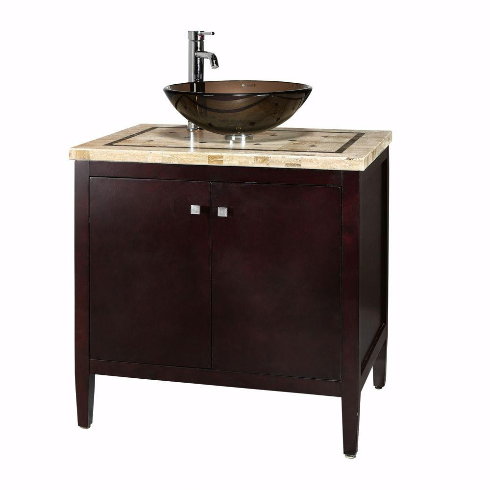 Best ideas about Home Depot Bathroom Sink . Save or Pin Home Decorators Collection Argonne 31 in W x 22 in D Now.