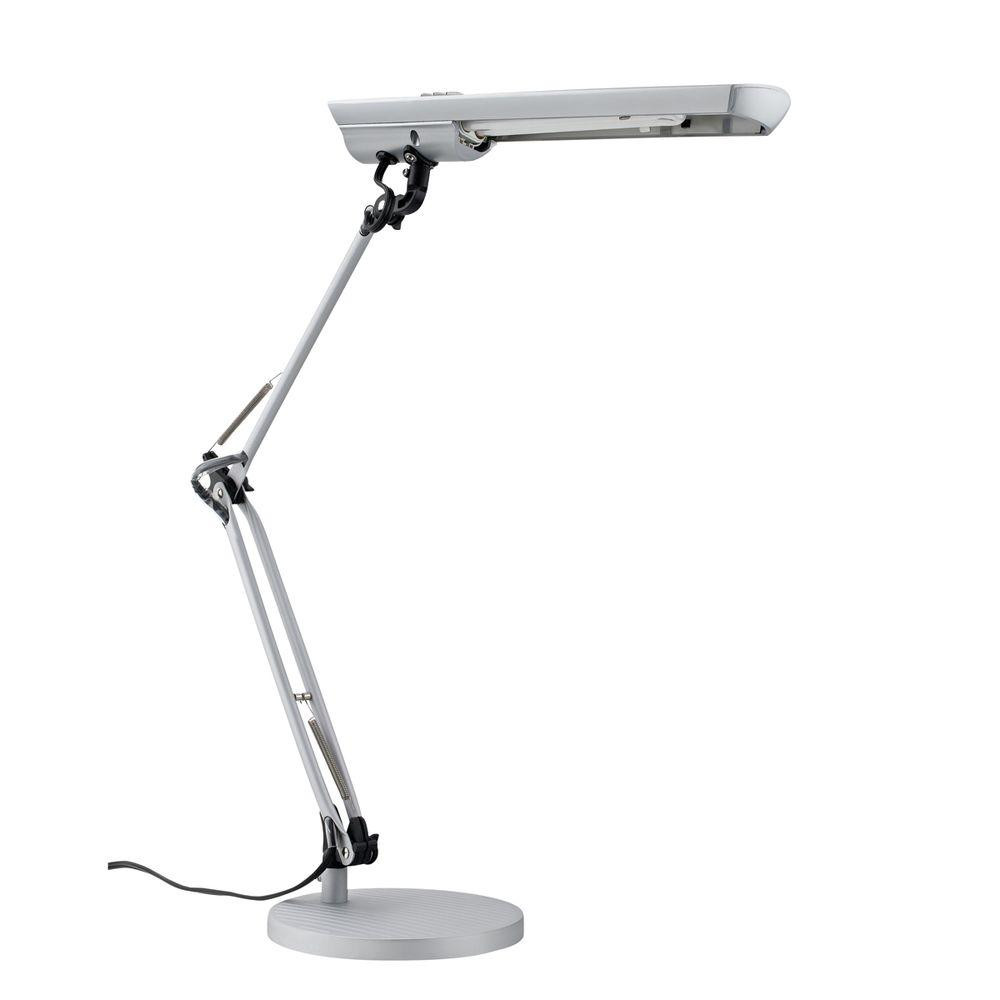 Best ideas about Home Depot Desk Lamp . Save or Pin Globe Electric 16 in Silver Natural Full Spectrum Sun Now.