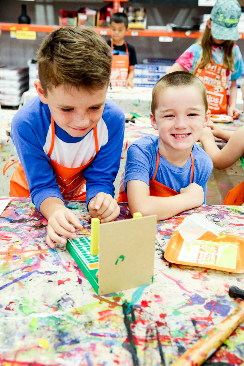 Best ideas about Home Depot DIY Kids . Save or Pin The Home Depot Kids Workshop Bower Power Now.