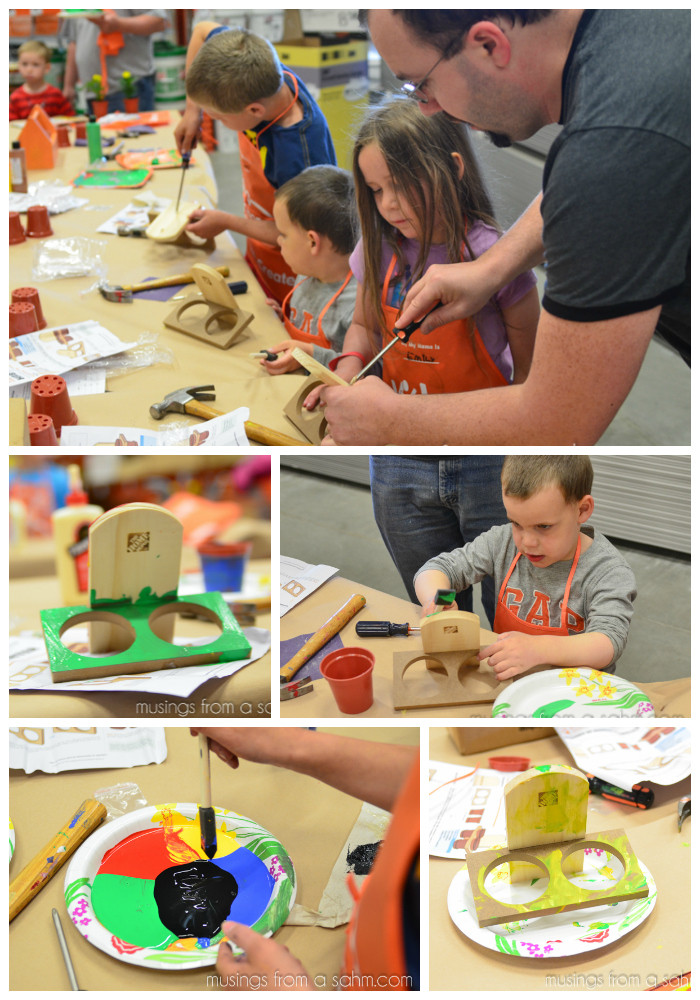 Best ideas about Home Depot DIY Kids . Save or Pin DIY for Kids at The Home Depot Kids Workshop DigIn Now.