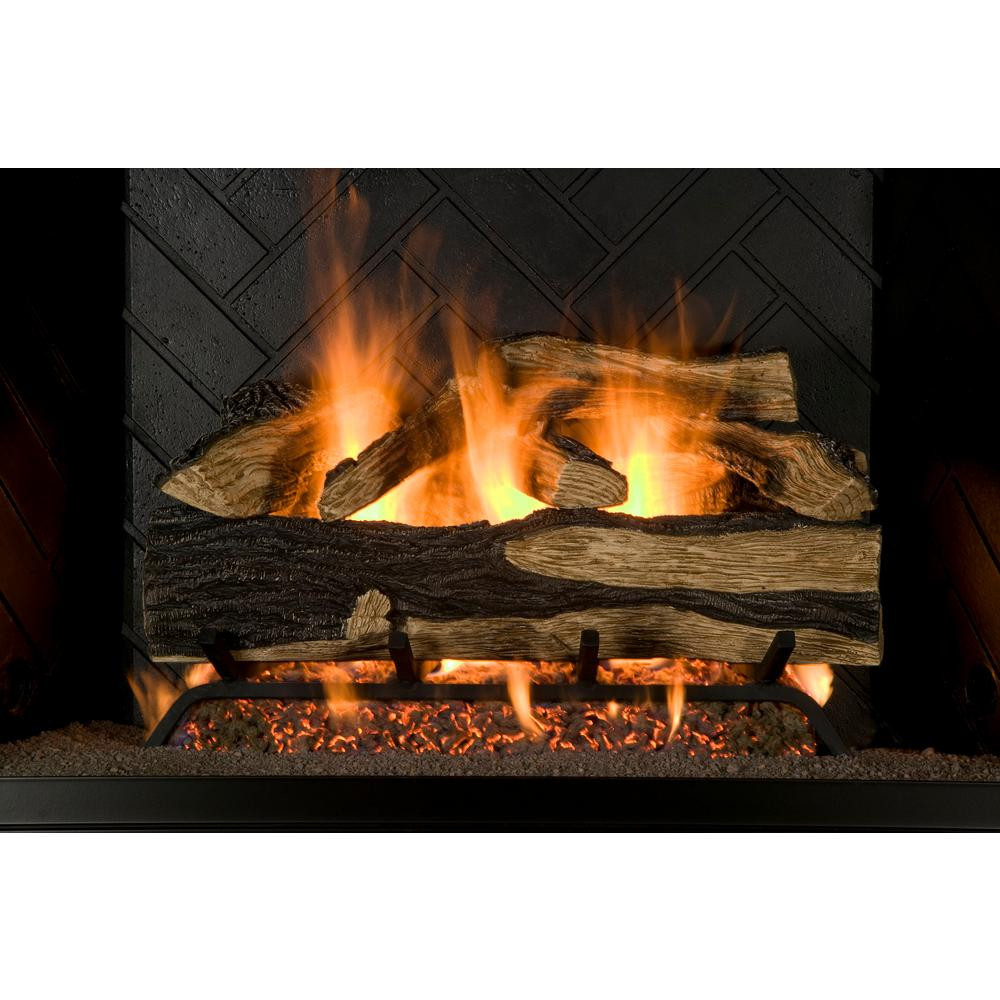 Best ideas about Home Depot Gas Fireplace . Save or Pin Emberglow Savannah Oak 18 in Vent Free Propane Gas Now.