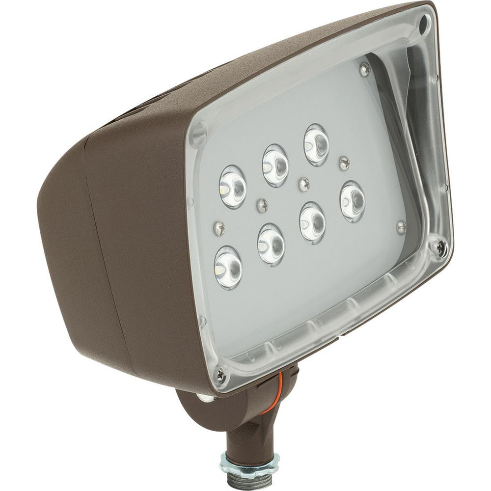 Best ideas about Home Depot Landscape Lighting . Save or Pin Hampton Bay Low Voltage 50 Watt Equivalent Black Outdoor Now.