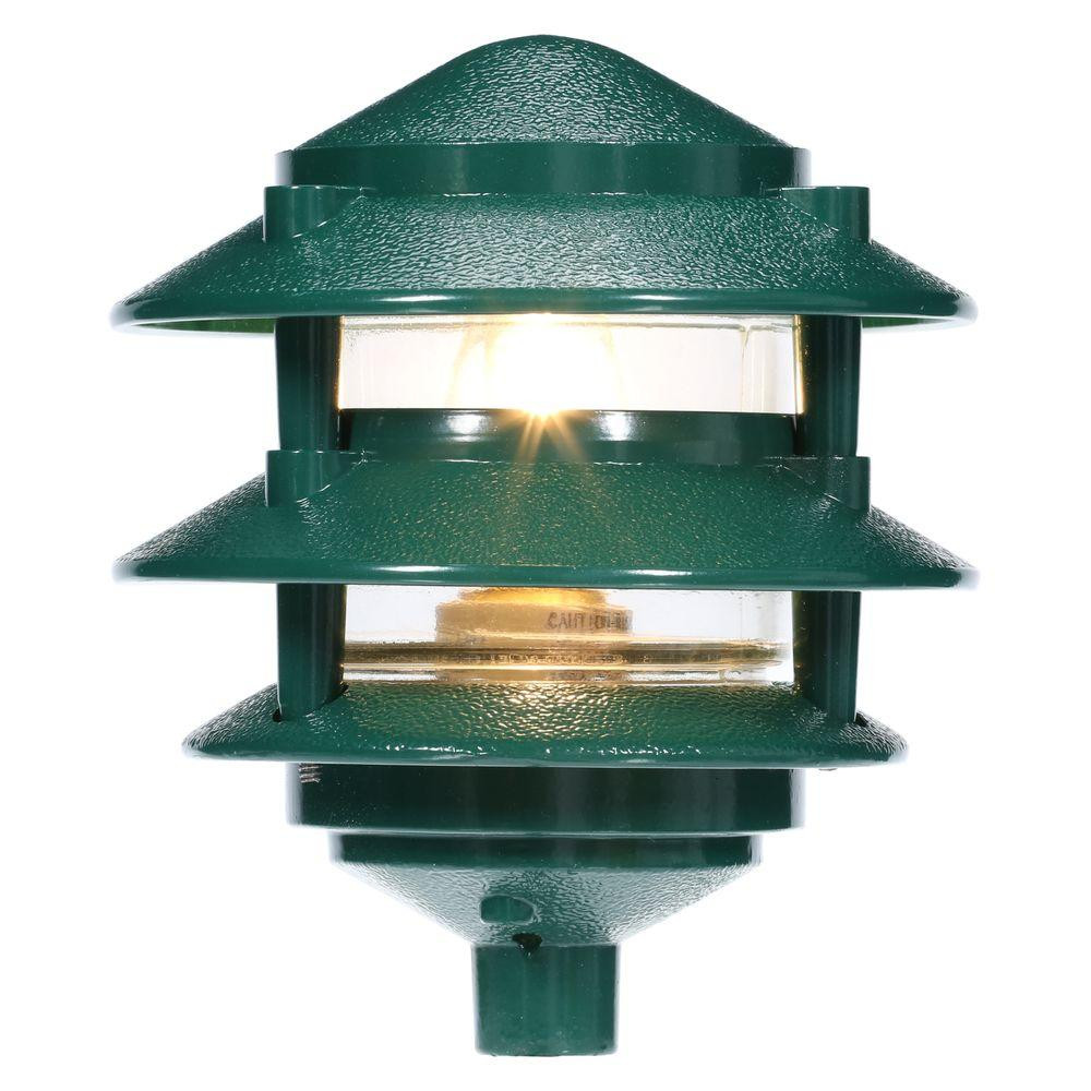 Best ideas about Home Depot Landscape Lighting . Save or Pin Progress Lighting Green Landscape Pathlight P5204 38 The Now.