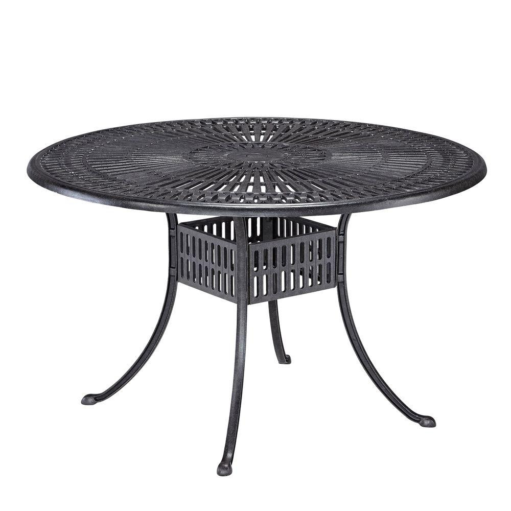 Best ideas about Home Depot Patio Table . Save or Pin Home Styles Largo 42 in Round Patio Dining Table 5560 30 Now.