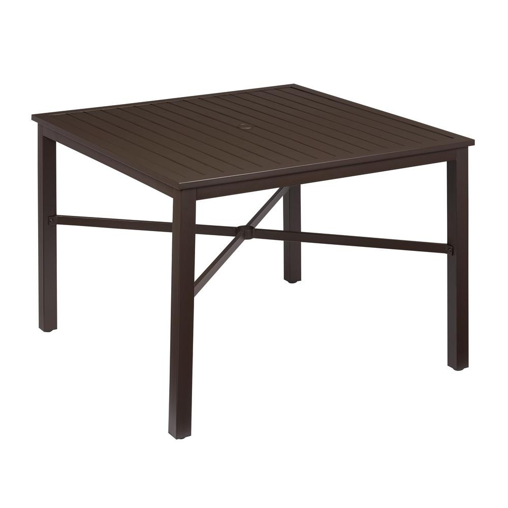 Best ideas about Home Depot Patio Table . Save or Pin Patio Dining Tables The Home Depot Table Outdoor Wood Ping Now.