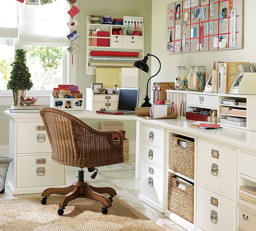 Best ideas about Home Office Organization Ideas . Save or Pin Creation of a Home fice Sewing Craft Room Now.