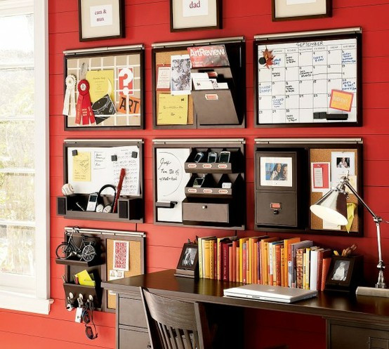 Best ideas about Home Office Organization Ideas . Save or Pin Organizing Ideas For Wall Spaces To Get Organized Now.