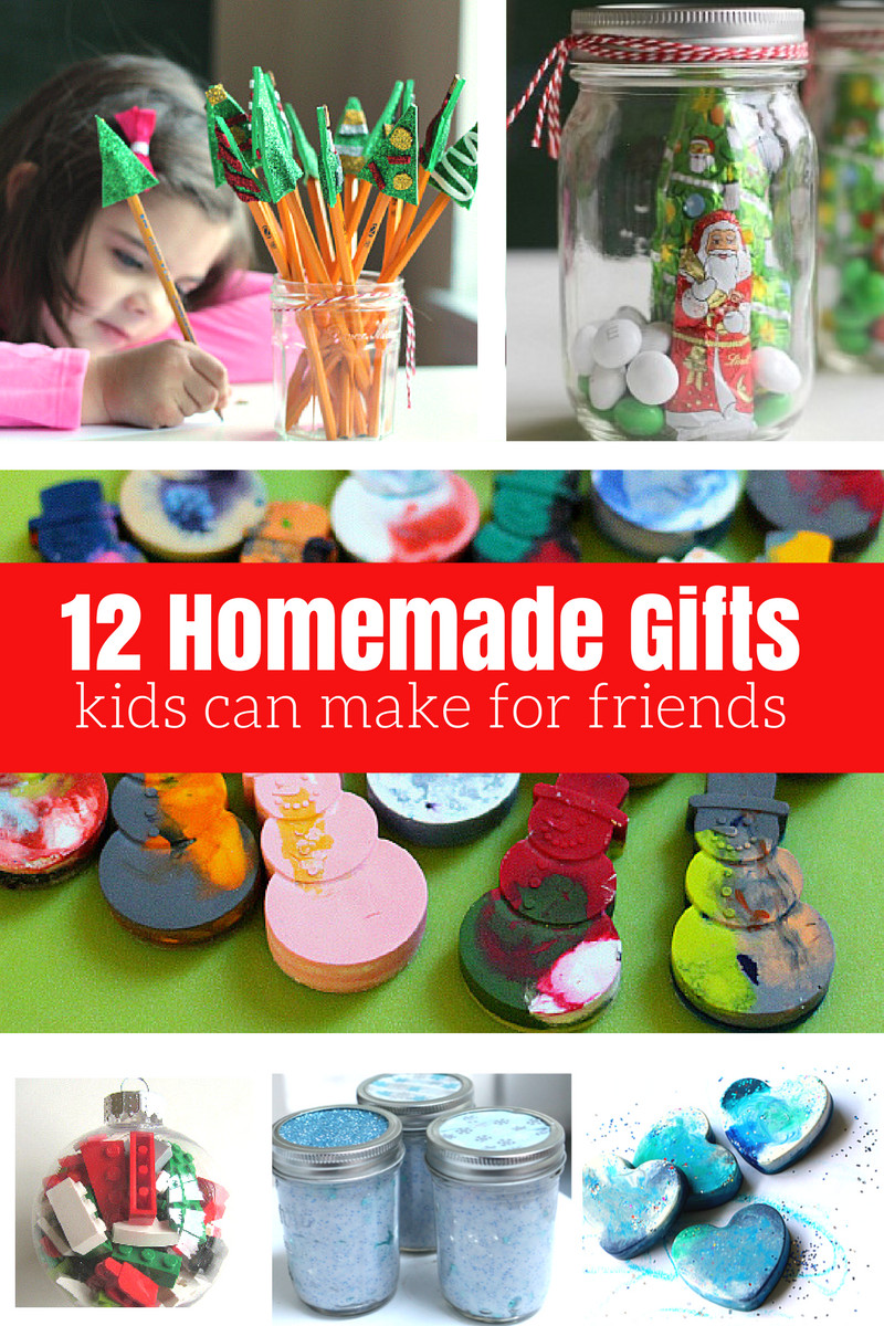 Best ideas about Homemade Christmas Gifts For Kids To Make . Save or Pin 12 Homemade Gifts Kids Can Help Make For Friends and Now.
