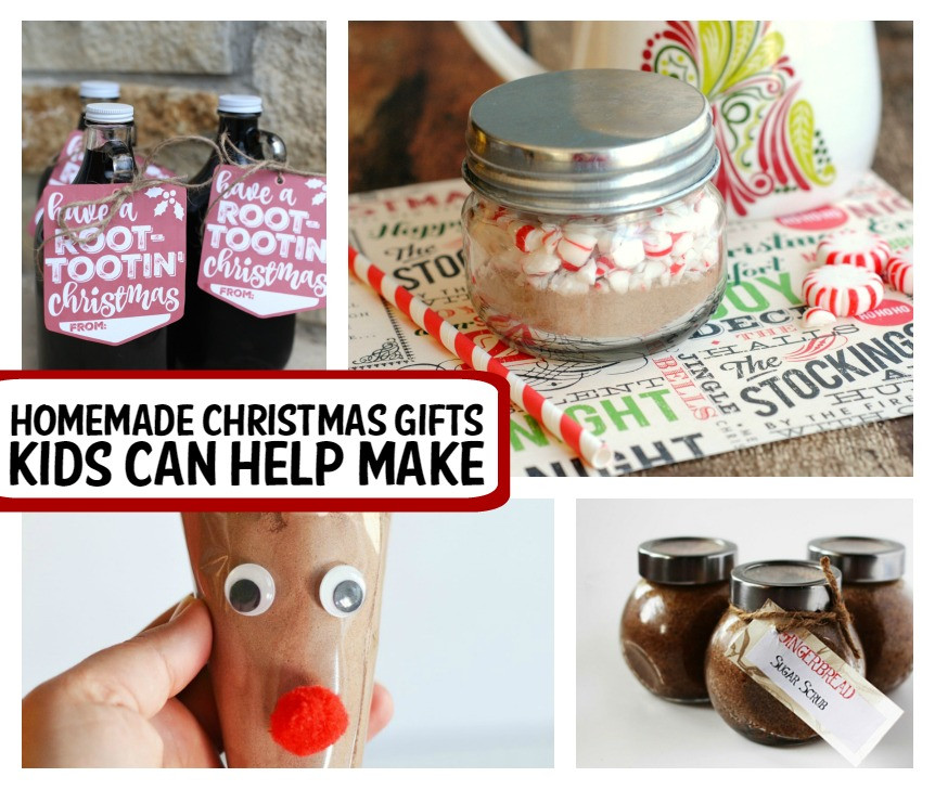 Best ideas about Homemade Christmas Gifts For Kids To Make . Save or Pin 25 Homemade Christmas Gifts Kids Can Make Now.