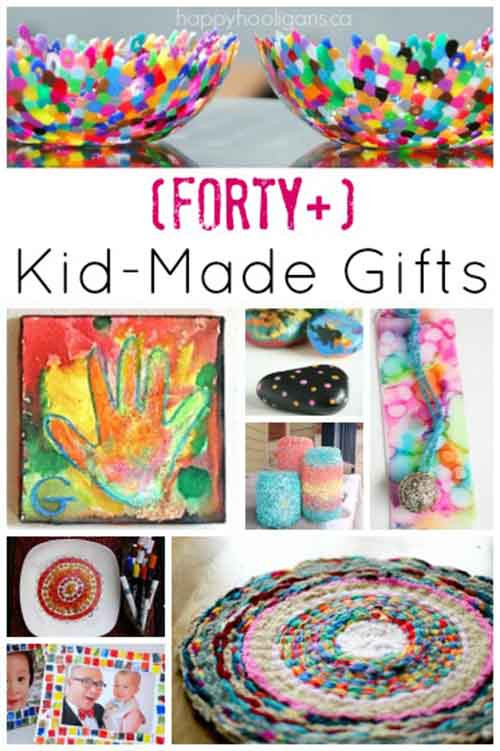 Best ideas about Homemade Christmas Gifts For Kids To Make . Save or Pin 40 Fabulous Gifts Kids Can Make Lil Moo Creations Now.