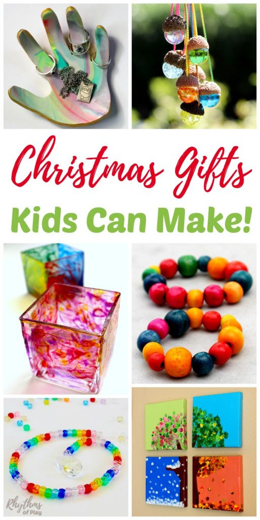Best ideas about Homemade Christmas Gifts For Kids To Make . Save or Pin Christmas Gifts Kids Can Make Rhythms of Play Now.