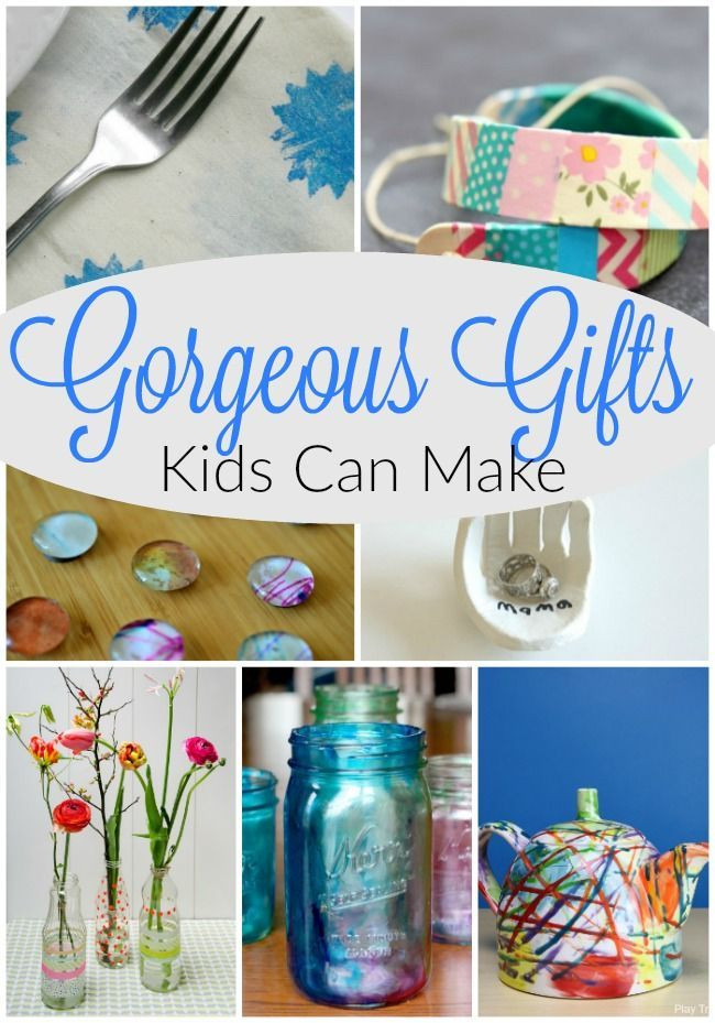 Best ideas about Homemade Christmas Gifts For Kids To Make . Save or Pin 44 best images about Brownie Crafts & Activities on Now.