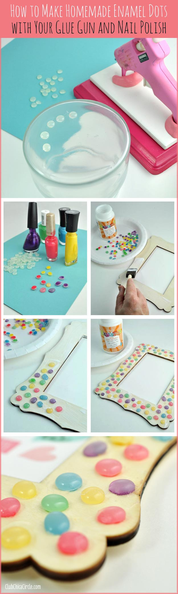 Best ideas about Homemade Craft Ideas For Adults . Save or Pin 31 Incredibly Cool DIY Crafts Using Nail Polish Now.