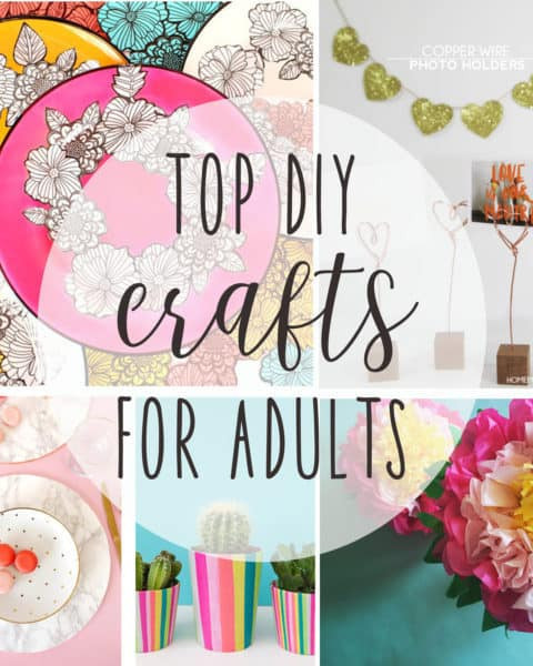 Best ideas about Homemade Craft Ideas For Adults . Save or Pin top DIY crafts for adults  Now.