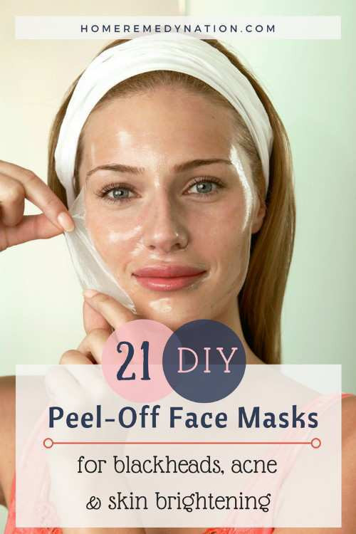 Best ideas about Honey Peel Off Mask DIY . Save or Pin 21 DIY Peel f Face Masks For Blackheads Acne and Skin Now.