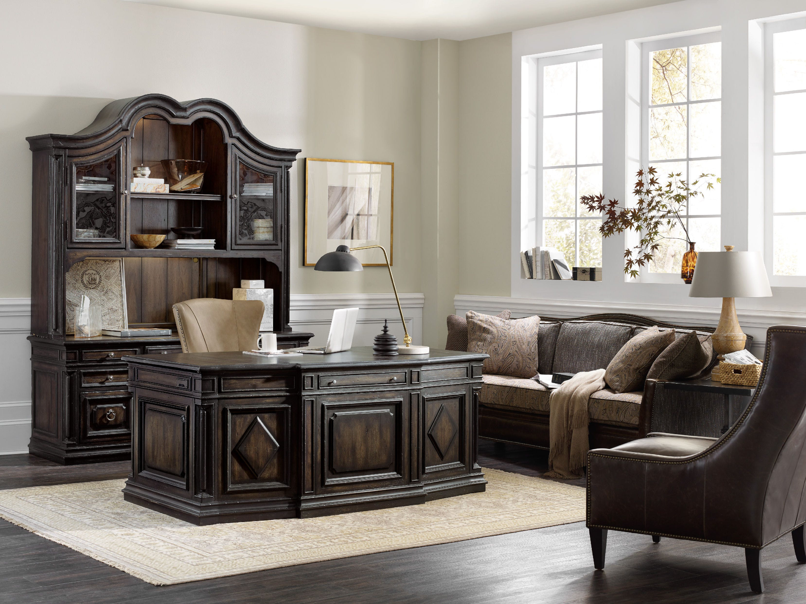 Best ideas about Hooker Office Furniture . Save or Pin Hooker Furniture Home fice Auberose Executive Desk 1595 Now.