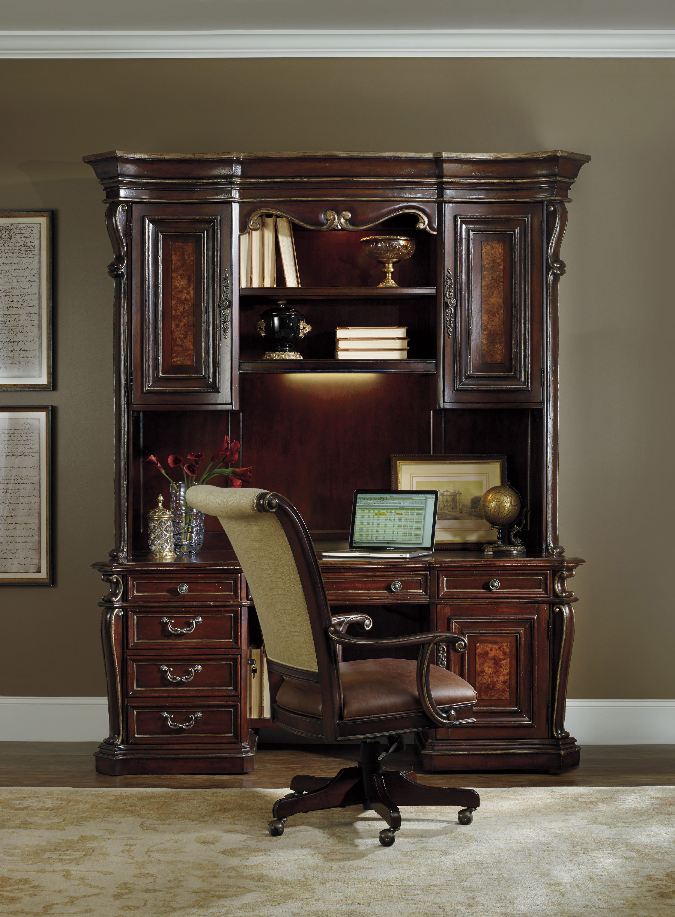 Best ideas about Hooker Office Furniture . Save or Pin Hooker Furniture Home fice Grand Palais Tilt Swivel Now.
