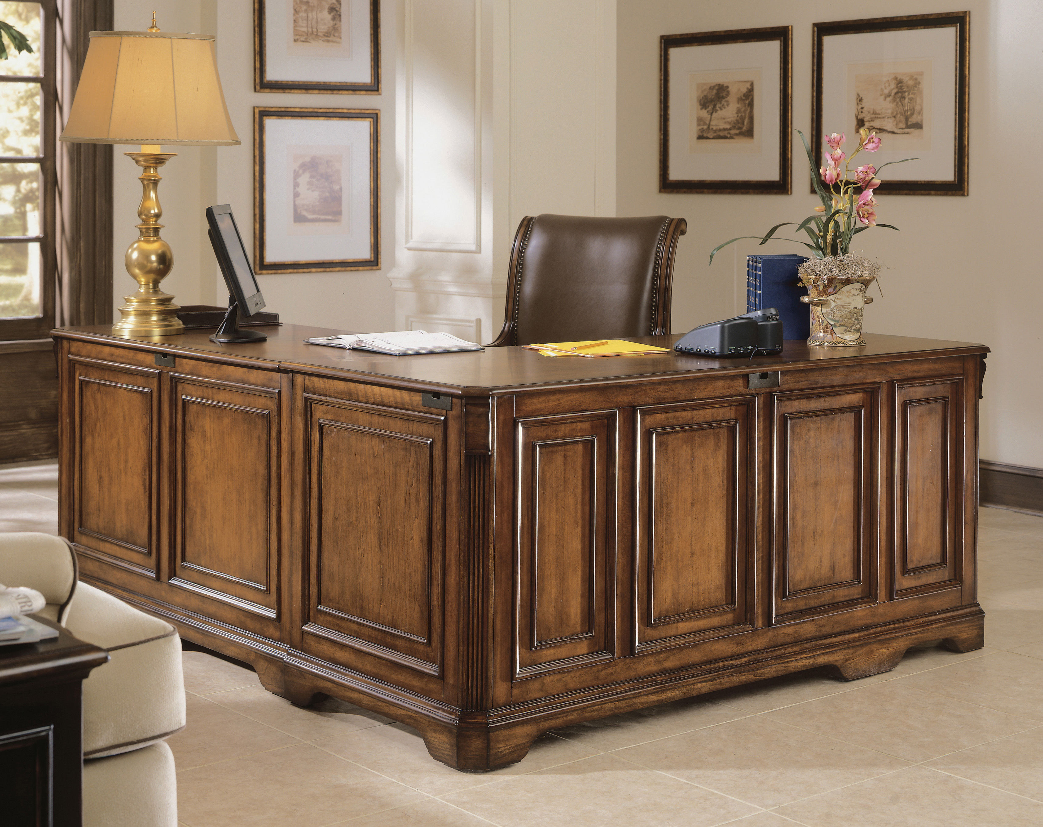 Best ideas about Hooker Office Furniture . Save or Pin Hooker Furniture Home fice Brookhaven Executive L Right Now.