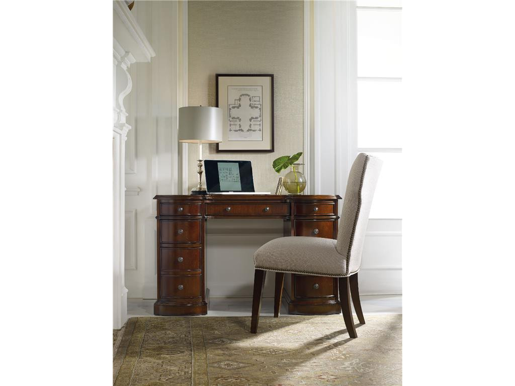Best ideas about Hooker Office Furniture . Save or Pin Hooker Furniture Home fice Cherry Knee Hole Desk Bow Now.