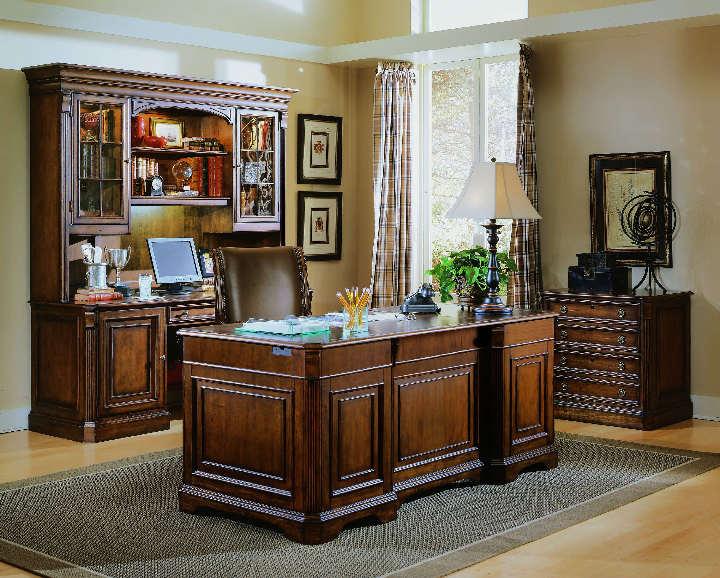 Best ideas about Hooker Office Furniture . Save or Pin Hooker Furniture Home fice Brookhaven Desk Chair 281 30 Now.