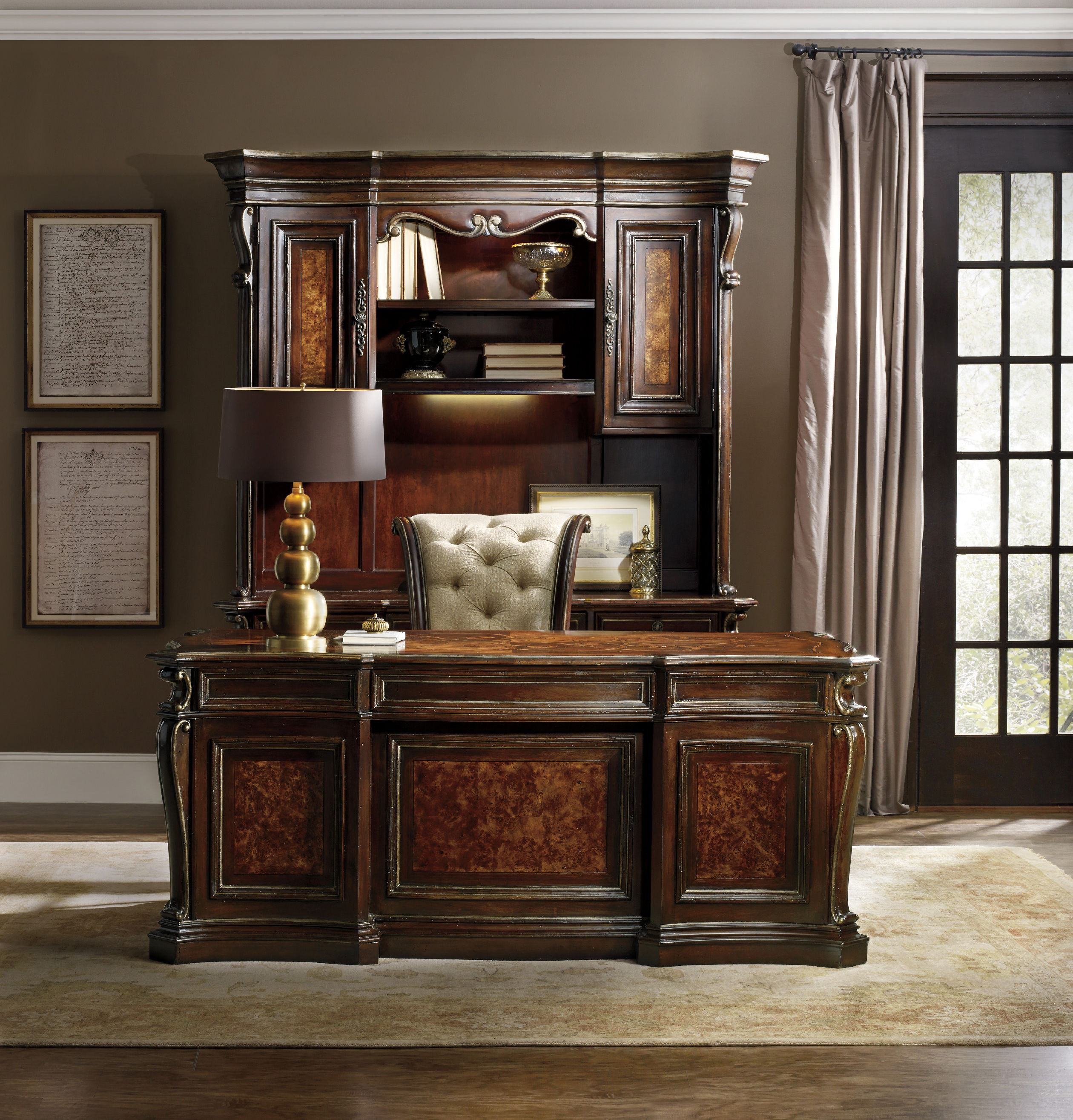 Best ideas about Hooker Office Furniture . Save or Pin Hooker Furniture Home fice Grand Palais Executive Desk Now.