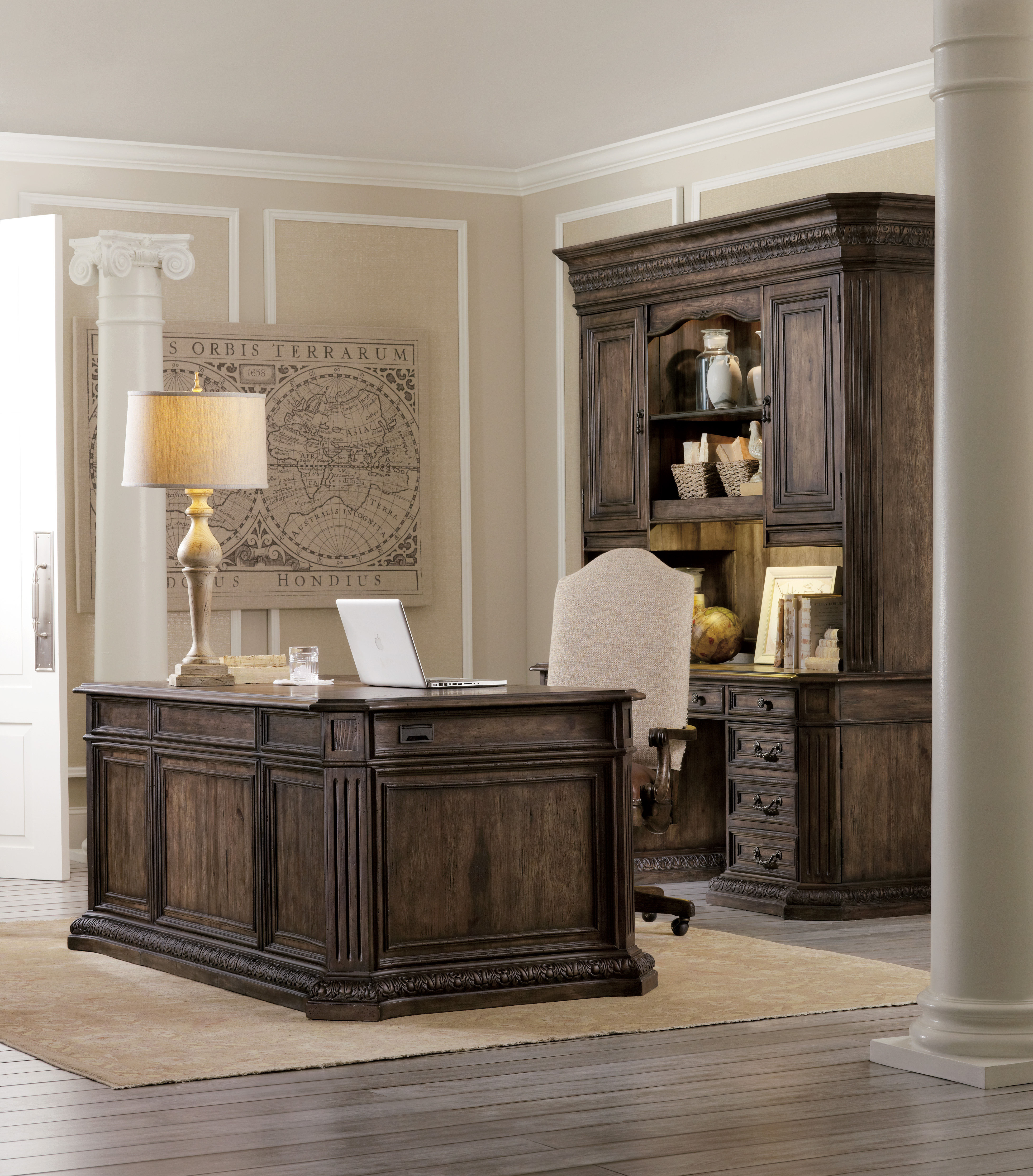 Best ideas about Hooker Office Furniture . Save or Pin Hooker Furniture Home fice Rhapsody puter Credenza Now.