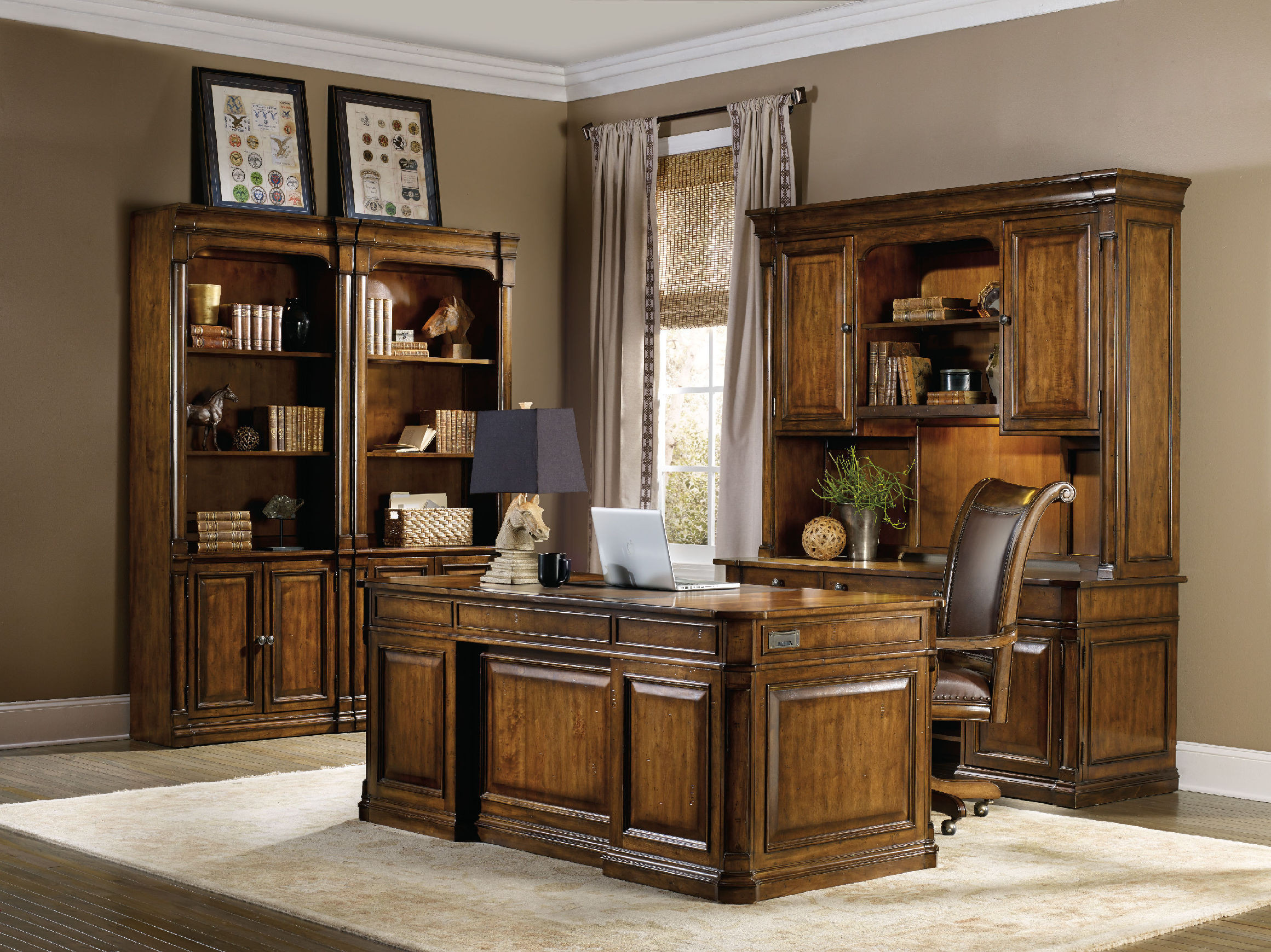 Best ideas about Hooker Office Furniture . Save or Pin Hooker Furniture Home fice Tynecastle Bunching Bookcase Now.