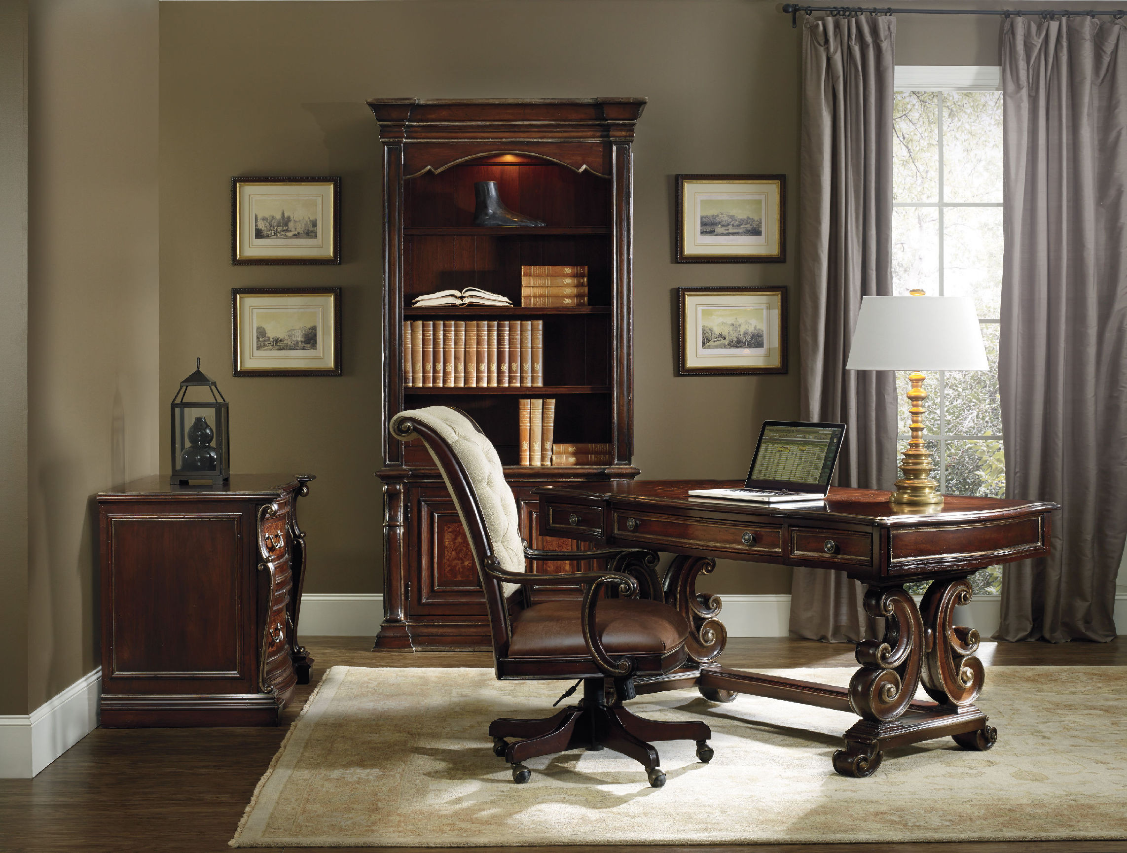 Best ideas about Hooker Office Furniture . Save or Pin Grand Palais Writing Desk 66 in 5272 Now.