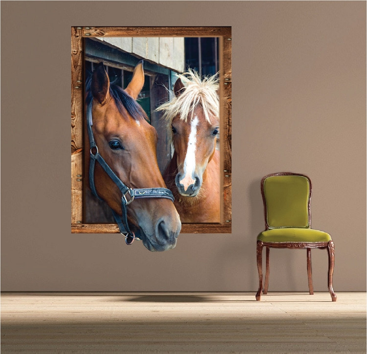 Best ideas about Horse Wall Art . Save or Pin Horse Frame Wall Decal Wall Decals Primedecals Now.