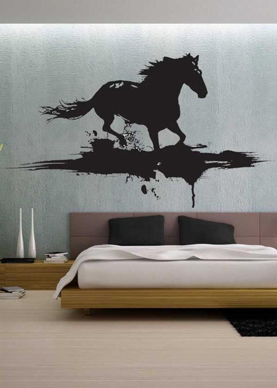 Best ideas about Horse Wall Art . Save or Pin Modern Horse uBer Decals Wall Decal Vinyl Decor Art Sticker Now.