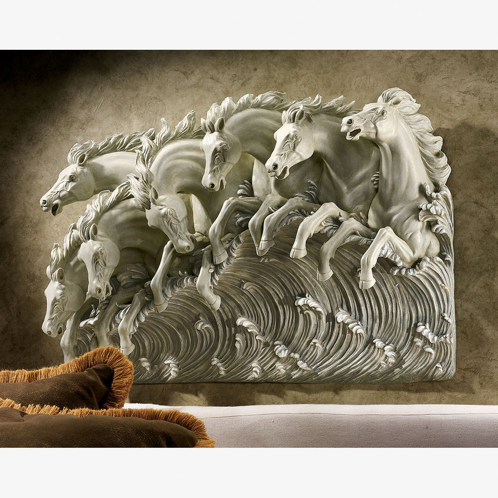 Best ideas about Horse Wall Art . Save or Pin Poseidon s Horses of the Sea Three Dimensional Horse Wall Now.