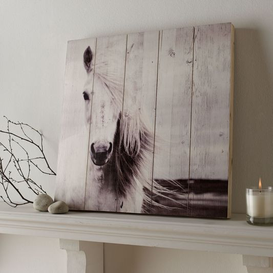 Best ideas about Horse Wall Art . Save or Pin Horse Print Wood Wall Art GrahamBrownUS Now.