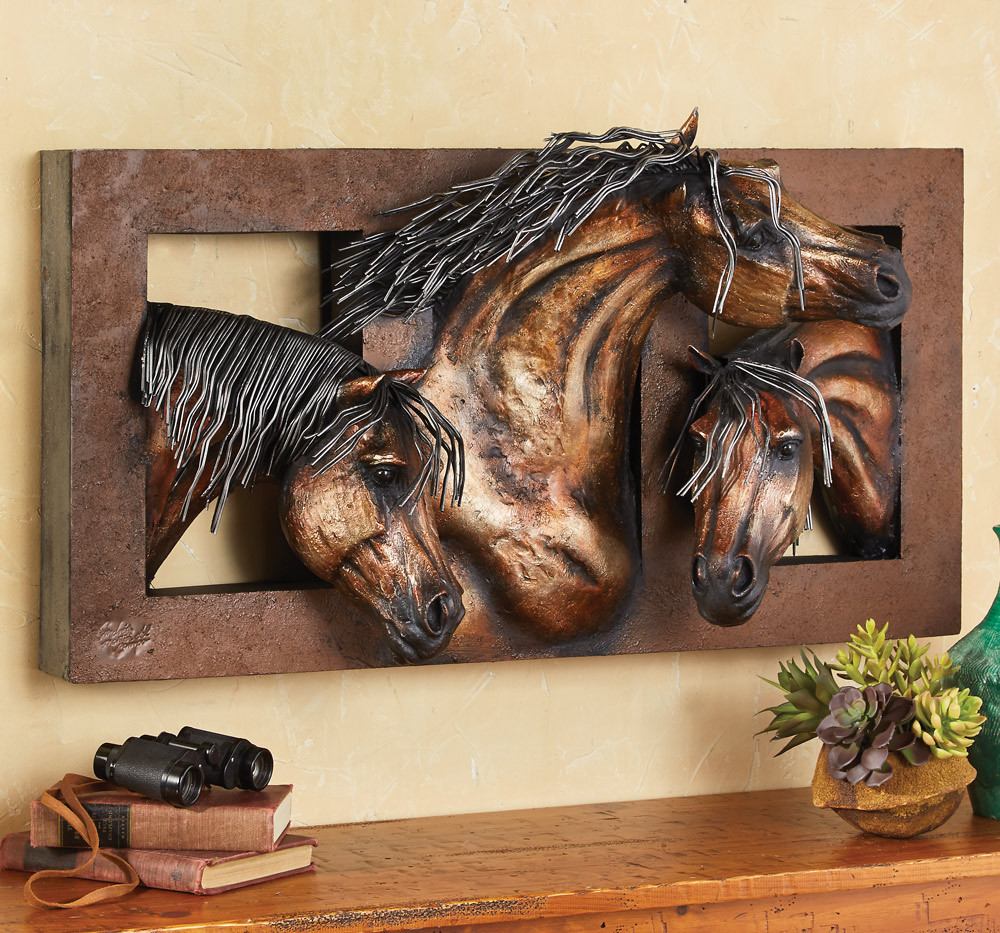 Best ideas about Horse Wall Art . Save or Pin Sweet Freedom 3 D Horse Wall Sculpture Now.