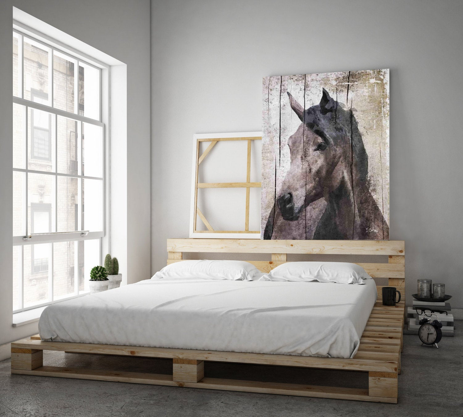 Best ideas about Horse Wall Art . Save or Pin Horse LeMuse Extra Horse Unique Horse Wall Decor Now.
