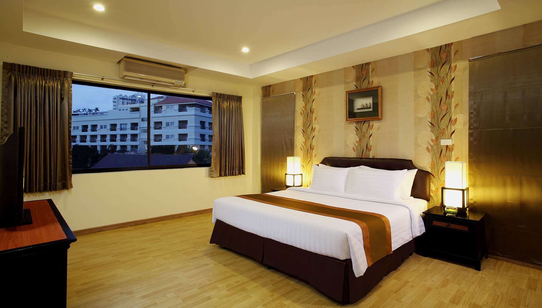 Best ideas about Hotels With Two Bedroom Suites . Save or Pin Two Bedroom Suite Nova Park Hotel Pattaya Now.