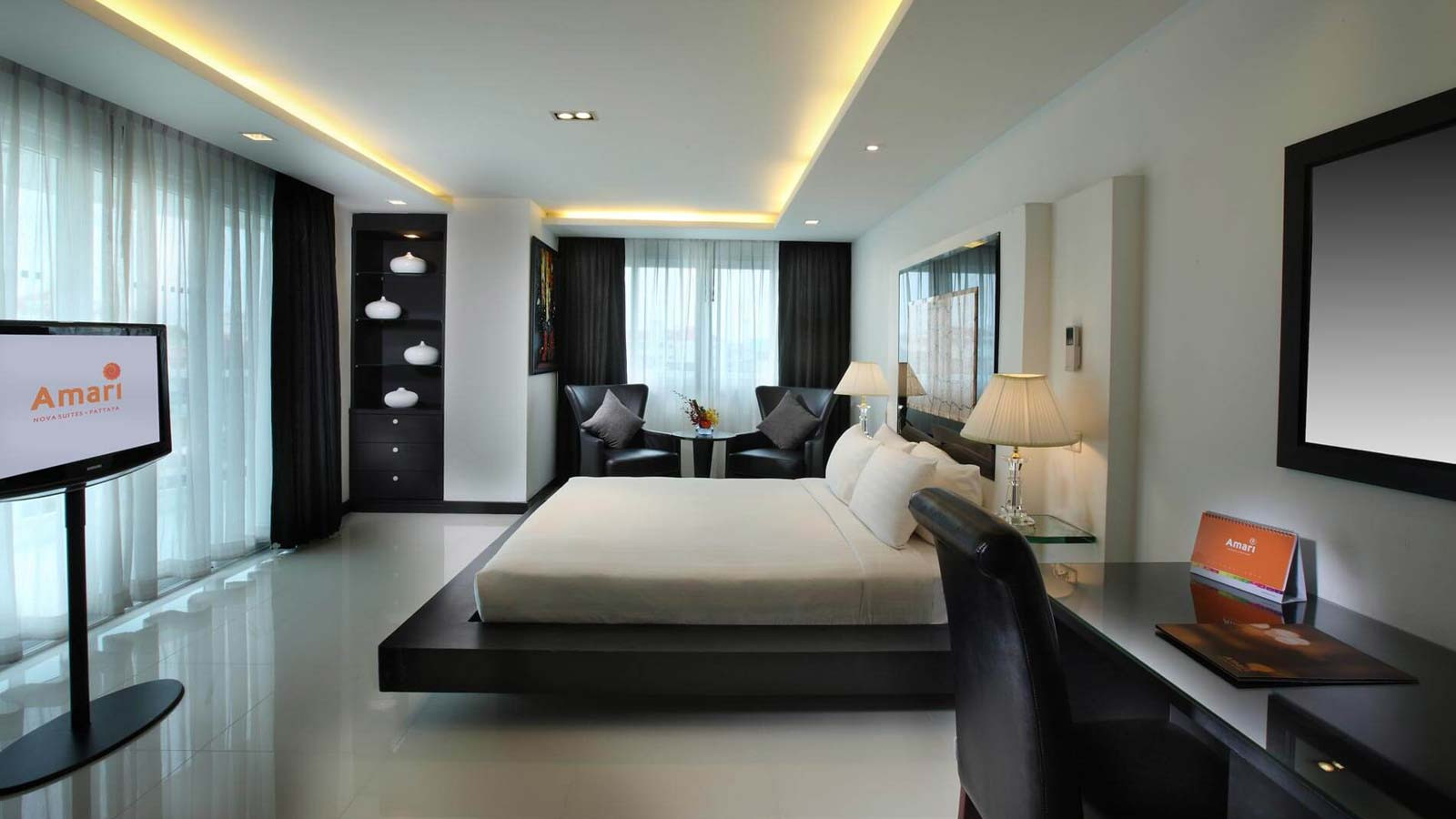Best ideas about Hotels With Two Bedroom Suites . Save or Pin Two Bedroom Suite Amari Nova Suites Pattaya Now.