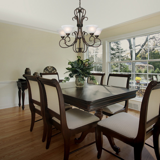 Best ideas about Houzz Dining Room . Save or Pin Golden Lighting Traditional Dining Room sacramento Now.