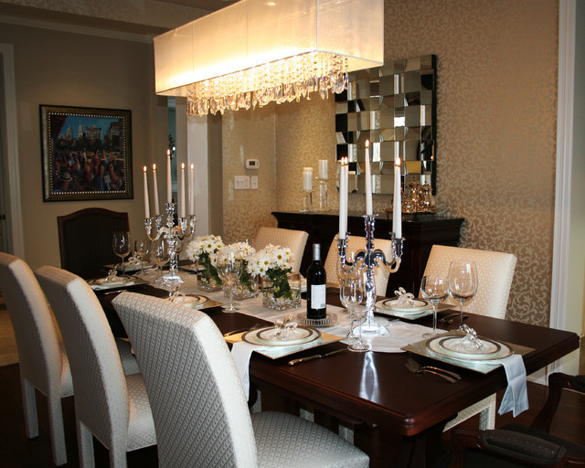 Best ideas about Houzz Dining Room . Save or Pin Joshua Creek Transitional Dining Room by Now.