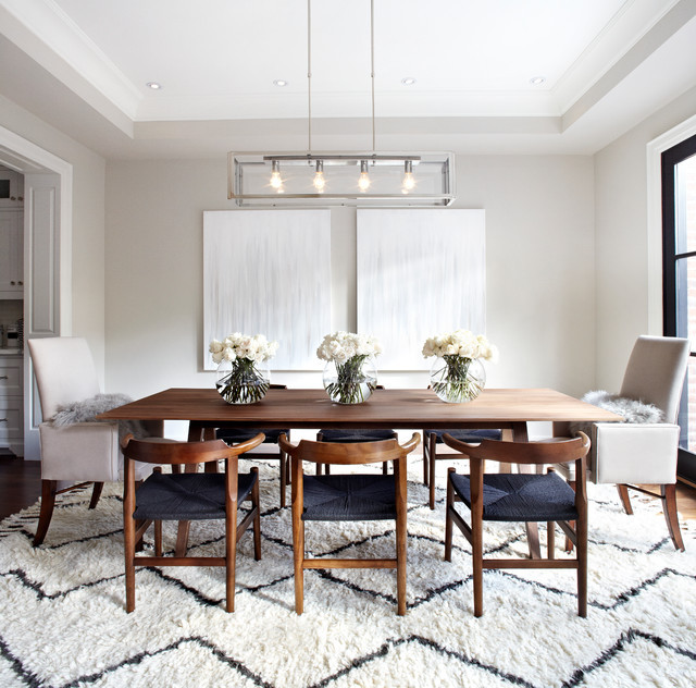 Best ideas about Houzz Dining Room . Save or Pin Transitional Dining Room Now.