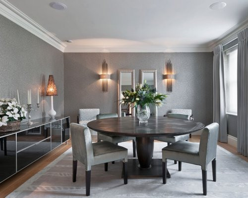 Best ideas about Houzz Dining Room . Save or Pin Grey Dining Room Now.