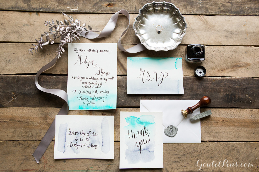Best ideas about How To DIY Wedding Invitations . Save or Pin How To DIY Wedding Invitations Goulet Pens Blog Now.