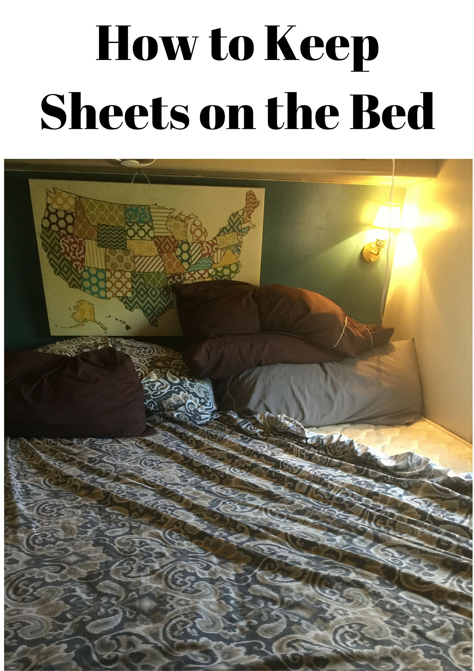Best ideas about How To Keep Sheets On Bed DIY . Save or Pin How to Keep Sheets on the Bed Trailer Now.