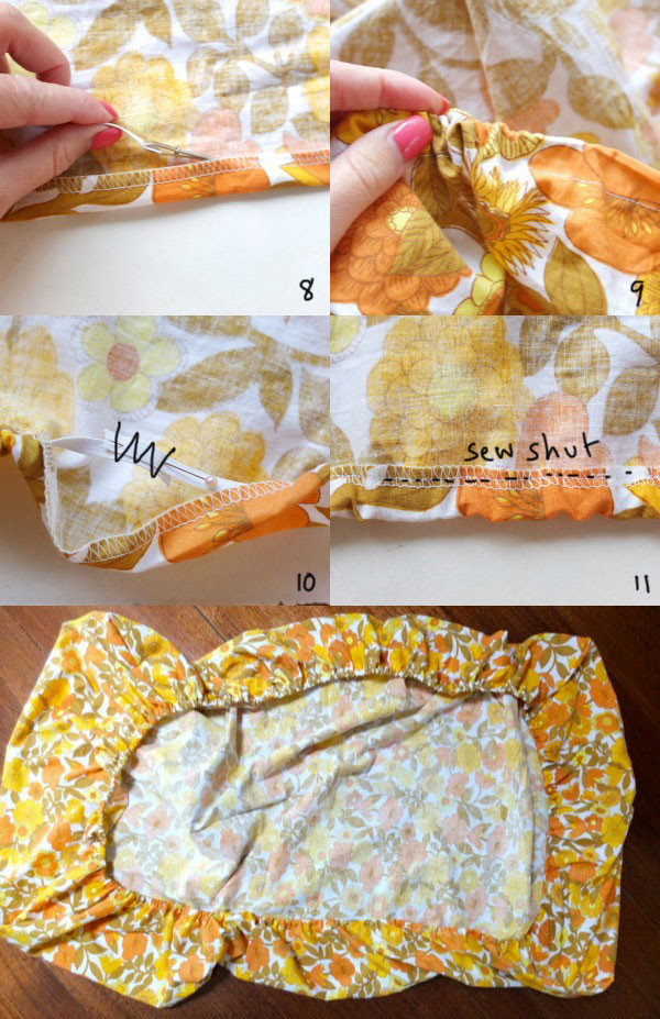Best ideas about How To Keep Sheets On Bed DIY . Save or Pin How To Make a Fitted Sheet Now.
