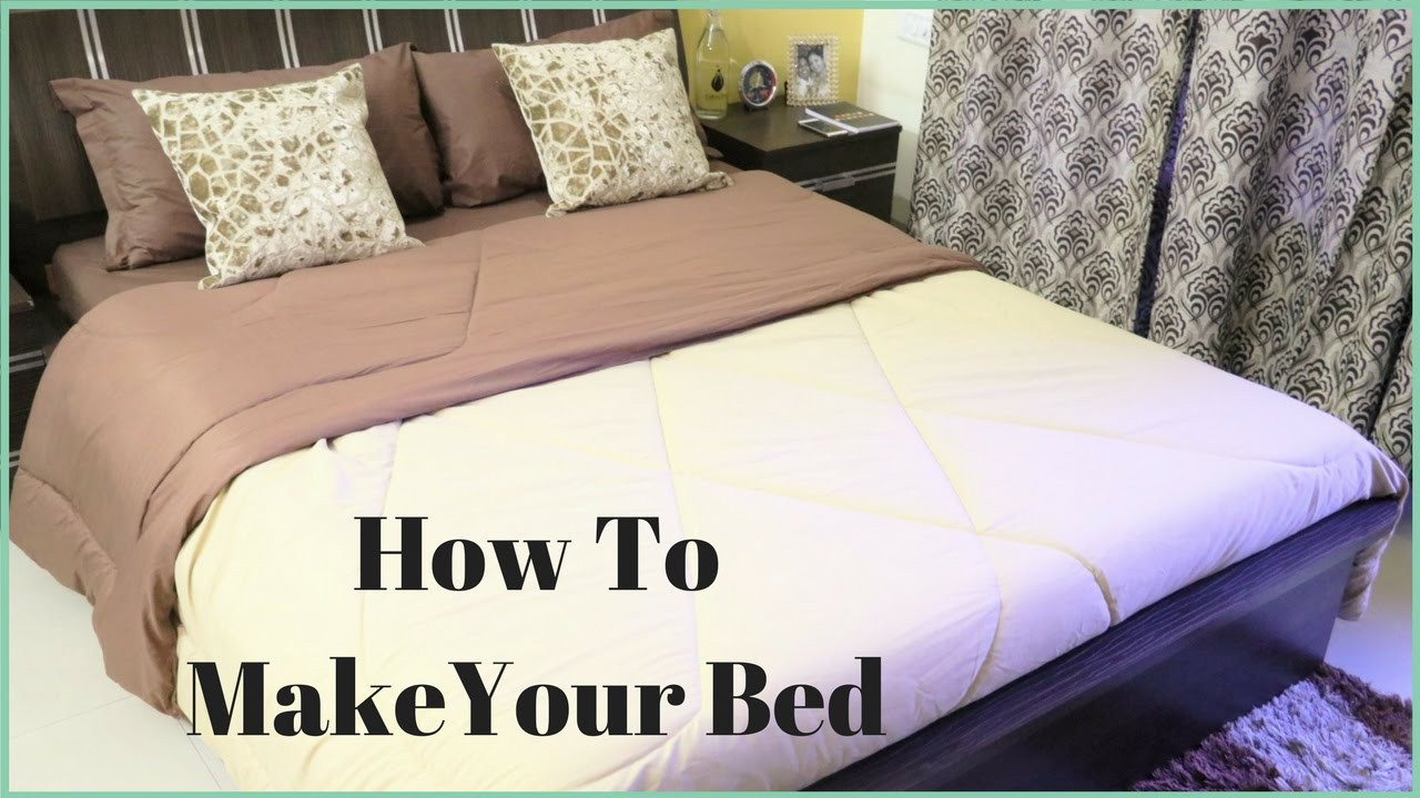 Best ideas about How To Keep Sheets On Bed DIY . Save or Pin How To Make A Bed How To Put A Bed Sheet A Bed Now.