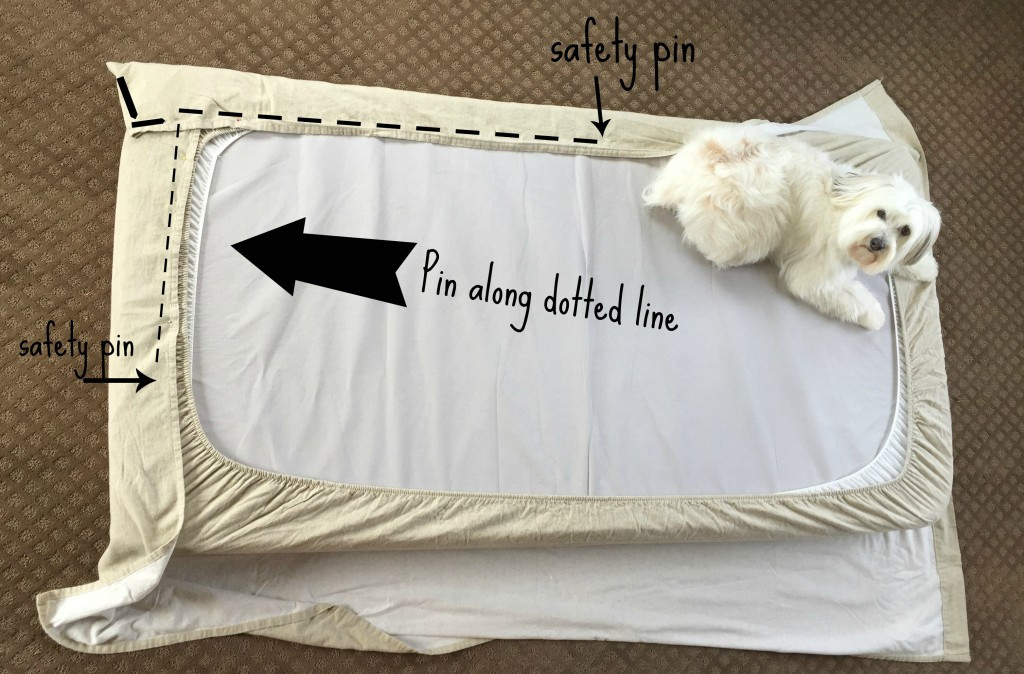 Best ideas about How To Keep Sheets On Bed DIY . Save or Pin Easy Bunk Bed Sheets Hugs Kisses and Snot Now.