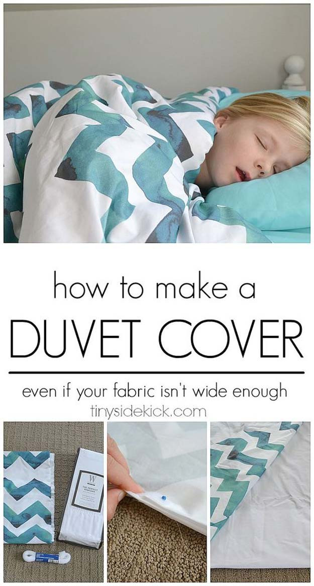 Best ideas about How To Keep Sheets On Bed DIY . Save or Pin 29 Cool DIYs to Make For Your Bed Now.