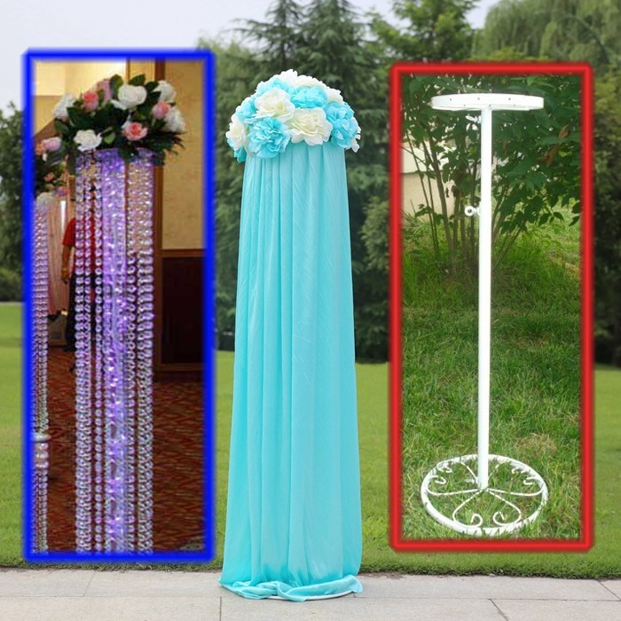 Best ideas about How To Make DIY Lighted Wedding Columns . Save or Pin Aliexpress Buy Wedding Road lead frame 10pcs lot Now.